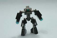 F.R.O.G (SpartanBricks) Tags: 4 hard frog suit frame weapons mecha mech blasters junebot