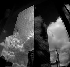 Clouds - Nuages - On Explore 18/6/2014 - Rank 310 (p.franche) Tags: brussels blackandwhite cloud tower europe tour belgium belgique noiretblanc bruxelles nuage brussel zwart wit schaarbeek schaerbeek belge quartiernord fz200 pascalfranche pfranche