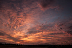 Sunset.10.7.14 (deltic17) Tags: sunset red clouds sunrise evening twilight redsky