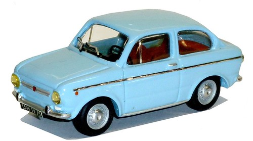 Miniroute Fiat 850 Special