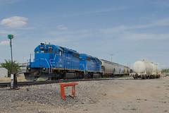 Southwestern Railroad, Hatch, New Mexico (R R Horne) Tags: railroad newmexico railway hatch sd402 southwesternrailroad