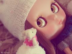 Antonela e seu Ursinho!!