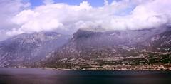 Monte Baldo da Tremosine (Cristina Birri) Tags: summer lake clouds lago garda nuvole estate monte lagodigarda tremosine baldo