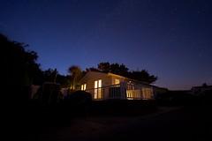 Chalet at night (antmcg12) Tags: sky wales night stars star north warren peninsula abersoch starry the llyn pwhelli