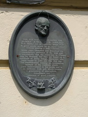 "James Joyce Pubs Aware Plaque - Pillars Bar, Cobh • <a style=""font-size:0.8em;"" href=""http://www.flickr.com/photos/9840291@N03/14503834103/"" target=""_blank"">View on Flickr</a>"