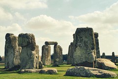 stonehenge (s1lmarillion) Tags: blue sky cloud green history grass stone clouds grey stones culture tourist historic stonehenge historical druid druids druidic