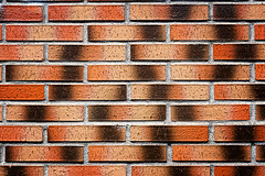 wall with red bricks (Mimadeo) Tags: new light red wallpaper urban orange sunlight brick texture horizontal stone wall facade concrete construction pattern exterior background bricks cement sunny surface clay brickwall backdrop stonewall block rough rectangle brickwork textured rectangles tiled