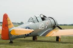 AirExpo 2014 - SNJ Texan - N29931 (pmarkham) Tags: usa mn trainer warbird edenprairie t6texan airexpo snjtexan flyingcloudfield