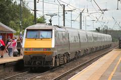 91109-NT-08062014-1 (RailwayScene) Tags: eastcoast bobbyrobson class91 northallerton intercity225 91009 91109