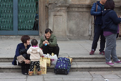 Visitors (lindseyta) Tags: street travel child candid mother tourists macau ruinsofthechurchofstpaul