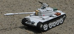 T-55 (Tomcat Bobcat) Tags: light cold t cool war tank shot lego outdoor awesome main picture pic battle medium 55 heavy t55 brickarms