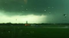 Raining:  Explored 7.30.2014 (michael.veltman) Tags: blur green rain clouds mood