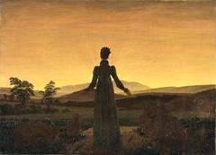 Woman before the Setting Sun (lluisribesmateu1969) Tags: essen friedrich museumfolkwang