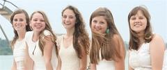 IMG_9452 (Five eyes) Tags: friends people sarah portraits zoe julia michigan emma graduation celebration miriam charlevoix 2014