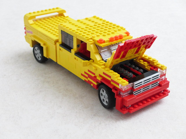 chevrolet lego pickuptruck killbill tarantino c2500