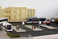 Flexy S09 - 2 (GelbenOmnibusse) Tags: bus mercedes busse 187 autocarro modelismo preiser citaro h0 modelbus evobus rietze