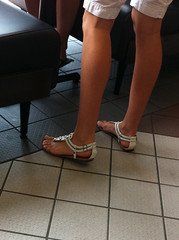 IMG_5143 (heellover91) Tags: woman sexy feet girl leather foot shoes toes legs sandals thong strappy