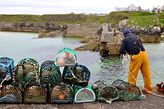 the lewis man (plot19) Tags: uk sea portrait man west water island photography islands scotland fishing nikon northwest britain north lewis western outer northern nets isle isles scotish hebrides plot19