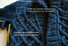 Cardigan Gramps (tricô em prosa) Tags: baby knitting handknit cables bebê gramps cardigan vovô tricô trança erro suéter semcostura cardigã
