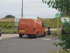 T191 KOW (routemaster2345) Tags: orange ford 1999 transit mk3 t191kow