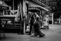 Time to leave, dear   Santorini Park   Bangkok 2016 (Johnragai-Moment Catcher) Tags: people photography santorinipark bangkokstreet bangkok couple momentcatcher monocrome streetmoment street streetphotography johnragai johnragaiphotos johnragaistreet johnragaibw