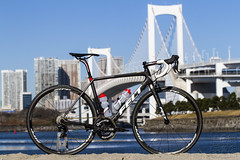 Bike Portrait : FELT FR1 (Kasukabe Vision FILMz✔) Tags: felt feltbikes rainbowbridge tokyorainbowbridge