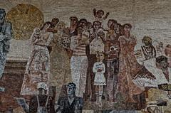 _DSC0032_cw (Wylf) Tags: soviet urss mozaika mosaic urbex cold war youri gagarine ussr hero urbexu history old
