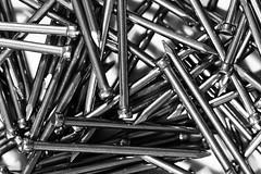 Pins (G_HOWDEN) Tags: bw pins macro mono