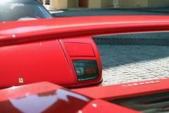 Ferrari F50 & F40 (Instagram: R_Simmerman) Tags: ferrari f50 f40 dubai autmn winter 2014 united arab emirates abu dhabi mall valet parking garage hotel combo burj khalifa jbr marina walk boulevard supercars sportcars hypercars dubaicars carsofdubai qatar saudi uae kuwait main entrance palace