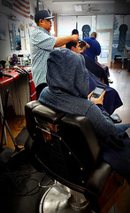 f_barbershop3 (ricksoloway) Tags: tucsonarizona arizonamojo barbershops newmillenniumbarbershop