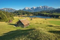 Geroldsee (libellenwellen) Tags: geroldsee bayern see alpen lake karwendel wagenbrüchsee landschaft landscape alps natur travel reisen berge
