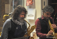 N2122865 (pierino sacchi) Tags: kammerspiel brunocerutti feliceclemente igorpoletti improvvisata jazz letture libreriacardano musica sassofono sax stranoduo