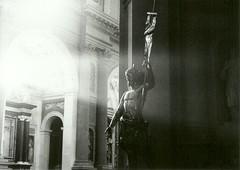 Yo soy el Camino, la Verdad y la Vida. (javp82) Tags: byn praktica bms analogico film pelicula bn pentacon italy italia piemonte novara piamonte