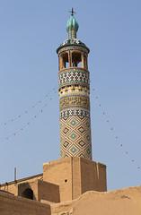 Agha Bozorg Mosque (Wild Chroma) Tags: minaret kashan iran agha bozorg mosque