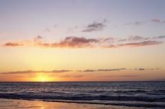 Wailea sunset (pabs35) Tags: hawaii maui film 35mm beach fuji fujifilm fujichrome velvia velvia50 wailea canon canonet ql17 canonetql17 rangefinder sunset