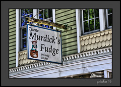 Murdick's Fudge (the Gallopping Geezer '4.4' million + views....) Tags: sign signs signage business store storefront ad advertise advertisement shop mi michigan smalltown tourist vacation roadtrip canon 5d3 tamron 28300 geezer 2016 murdicksfudge food candy treat desert classic fudgie