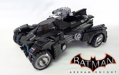 Arkham Knight Batmobile (Proudlove) Tags: arkhamknight batmobile batman ionlyworkinblack andsometimesreallydarkgrey dc warnerbros rocksteady 100 lego proudlove lugnuts
