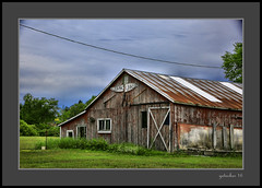 Jer-Macber Co (the Gallopping Geezer '4.4' million + views....) Tags: building structure old weathered worn faded decay decayed neglected rural backroad backroads roadtrip mi michigan upperpeninsula up canon 5d3 tamron 28300 geezer 2016 jermacber company business sign signage