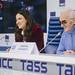 Шарль Азнавур пресс-конференция ТАСС (20)