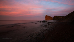Perce Rock (Photography by Ramin) Tags: perce rock quebec canada landscape sunset water canadian land nature eastcoast golden hour beauty