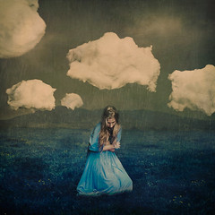 making the storm (brookeshaden) Tags: brookeshaden fineartphotography promotingpassion creativeconvention creativityconference photographyconvention buffalony clouds selfportraiture rainyday