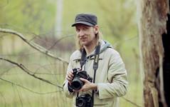 I am (Vakkor) =) (Vakkor's Photostream) Tags: film fujicolor expired analog nikonn90s self pentax6x7 portret