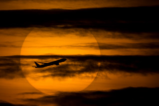 Evening departure.