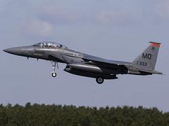 United States Air Force | McDonnell Douglas F-15E Strike Eagle | 91-0333 (FlyingAnts) Tags: united states air force mcdonnell douglas f15e strike eagle 910333 unitedstatesairforce mcdonnelldouglasf15estrikeeagle usaf raflakenheath egul