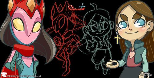 Character designer - ilustration 19 | CrossMan