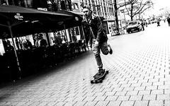 (Mister G.C.) Tags: street urban photography blackandwhite bw skateboard longboard hannover germany