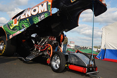 Venom (Fast an' Bulbous) Tags: nitro funny car flopper drag race fast speed power funnycar santapod easter england outdoor motorsport nikon d7100 gimp