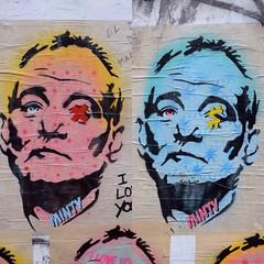 Minty Murray (Thefullminty) Tags: billmurray sussex thelanes graffiti brighton