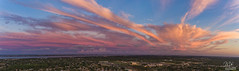 Space Coast Sunset (Michael Seeley) Tags: sunset dji phantom melbourne florida clouds cloudporn mike seeley michaelseeley