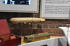 California State Railroad Museum (Adventurer Dustin Holmes) Tags: 2017 californiastaterailroadmuseum museum sacramentoca sacramentocalifornia california railroad train blimp old antique toy dirigible dirigiblebuilder kit model